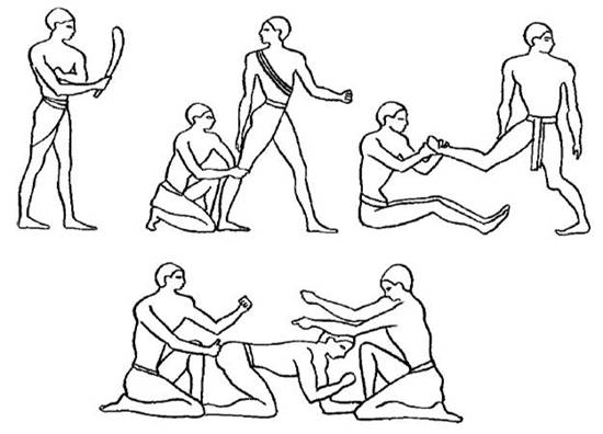 Історія виникнення та розвитку масажу