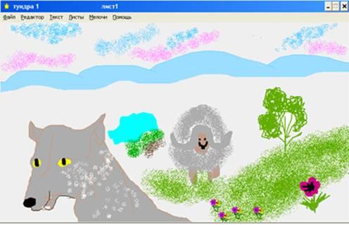 Построение проектной деятельности с детьми 3 класса на основе дидактической среды Лого Миры