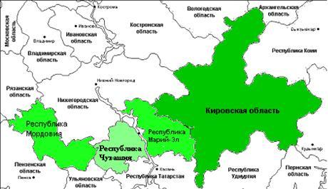 Эколого-экономическая оценка Волго-Вятского региона