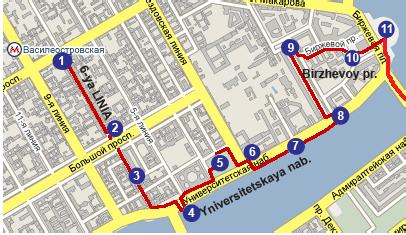 Пешеходные туристские путешествия по Санкт-Петербургу