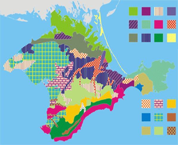 Природные ресурсы Крыма и проблемы их рационального использования