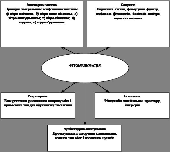 Фiтомелiорацiя мiських екосистем