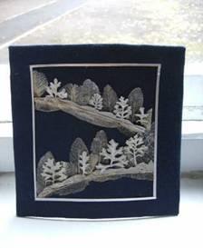 Виготовлення флористичних робіт з використанням різноманітного природного матеріалу